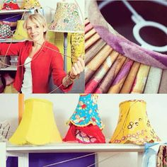 Our latest feature in @Craftseller magazine- #katiharrisdesign #lampshades #lampshade #interiordesign #handmade #craft