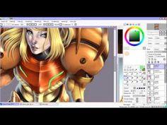Speed Paint - Samus Aran - Paint tool Sai