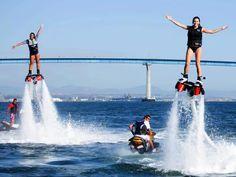 Flyboard, Aquatic Aviation (San Diego)