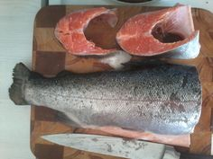 Healthy FOOD. FISHES. Like Fishes Fry or Smoke. You? 1.DO.  BUY and CUT Salmon pieces.