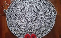 Szydełkowy dywan w Motilove na DaWanda.com