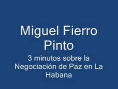"""Miguel Fierro Pinto: """"una paz mal negociada con cimientos de impunidad"""" ..."""