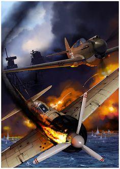 Pearl Harbor by dugazm.deviantart.com on @deviantART