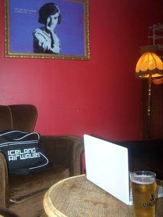 Hemmi & Valdi cafe, Reykjavik, Iceland.