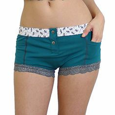 FOXERS Women's Boxer Brief Underwear with Pockets | Cotton Boy Shorts Panties - http://www.darrenblogs.com/2016/12/foxers-womens-boxer-brief-underwear-with-pockets-cotton-boy-shorts-panties/