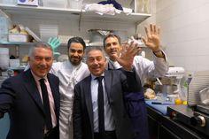 Toni, Rinaldo, Claudio, Marco Faiola au Stresa (Paris 8e)