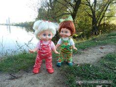 Ходит осень в нашем парке, Дарит осень всем подарки)) Сестрички фейсинки (Galoob Baby Face) на прогулке. / Куклы Galoob Baby Face dolls / Бэйбики. Куклы фото. Одежда для кукол
