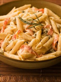 Penne with Smoked Salmon (Chef Michael Smith) - Just made this - it was awesome!
