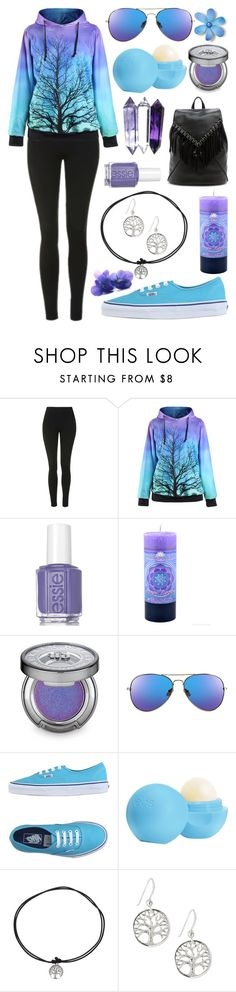 """Illumination"" by meaganmuffins on Polyvore featuring Topshop, Essie, Urban Decay, Vans, Eos and Sole Society"