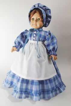 1860's Historical Outfit for American Girl 18 by NancysBigIdeas, $35.00