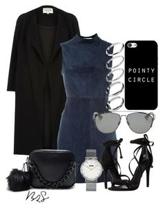 """""""#694"""" by blendingtwostyles ❤ liked on Polyvore featuring River Island, T By Alexander Wang, Schutz, CLUSE, ASOS and Christian Dior"""