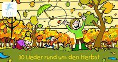 Die 30 besten Herbstlieder für Kinder – Jetzt bei Kixi! – Kinderkino