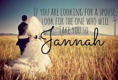 Beautiful Muslim couple DP with Quote for Facebook