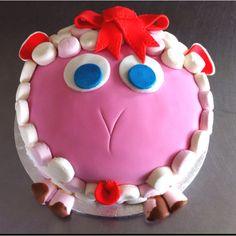 Simple Sheep Cake