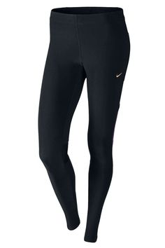 Nike Women's Tech Tight (Black/Purple/Bronze) - Runners Need £27.99