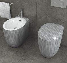 ideen für toilettendesign stilvolles badezimmer grau
