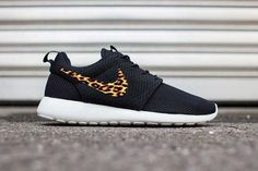 Custom Cheetah Print Nike Roshe Run Fabric by DailyApparelCustoms