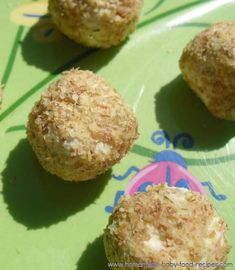 Cream Cheese Bites – A Summertime Finger Food For Baby | The Homemade Baby Food Recipes Blog