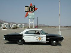Old School Police Cars