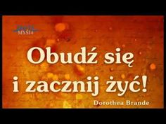 Dorothea Brande - Obudź się i zacznij żyć! Audio Books, Youtube, Cos, Mandala, Mandalas, Youtubers, Coloring Pages Mandala