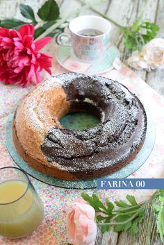 Ideale per la prima colazione il ciabellone bicolore mette d'accordo tutta la famiglia , ideale per chi ama il gusto semplice o quello più goloso del ciocc