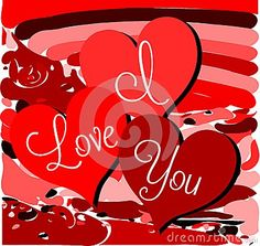 Illustration usable as background or saint valentine's greeting card