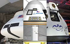 Meet NASA's commercial space capsule contenders. Lets hope they go for all three.
