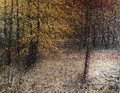 Oil on canvas by Wisconsin artist David Schaefer