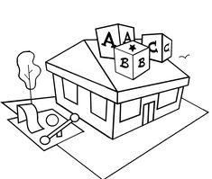 kueche architektur ausmalbilder m bel pinterest. Black Bedroom Furniture Sets. Home Design Ideas