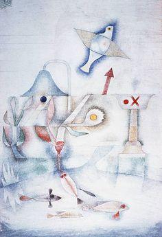 Marchen Bild by Paul Klee