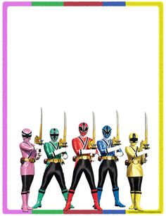 (Haz click en la imagen para agrandar) Power Rangers Samurai, Power Rangers Helmet, Power Rangers 2017, Power Rangers Ninja Steel, Pawer Rangers, Mighty Morphin Power Rangers, Power Rangers Halloween Costume, Power Rangers Invitations, Power Rangers Birthday Cake