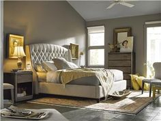 Universal Furniture | Curated | Halston Bed (King) | 552260B