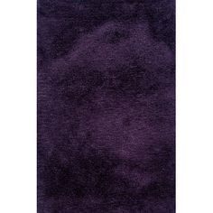The Conestoga Trading Co. Luxe Handmade Purple Area Rug Rug Size: 10' x 13'