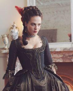 Jessica Brown Findlay in Harlots (2017)