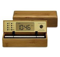 Zen Meditation Clock- from Deepak Chopra and The Chopra Center Zen Meditation, Yoga Gifts, Life Organization, Flip Clock, Digital Alarm Clock, Yoga Inspiration, Usb Flash Drive, Deepak Chopra, Bamboo