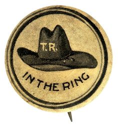 Theodore Roosevelt Campaign Button (1912)