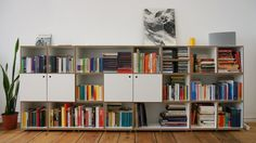 ... bei Sven #regalmodul #regal #shelf #system #cube  www.stocubo.de