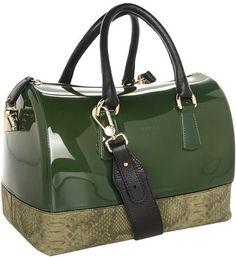 Furla Handbags Candy Bag with Leather cheap designer Furla Handbags outlet