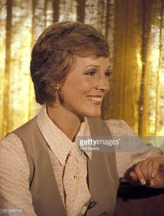 Julie Andrews during Julie Andrews Honored with a Star on the Hollywood Walk of Fame at 6901 Hollywood Blvd in Hollywood California United States