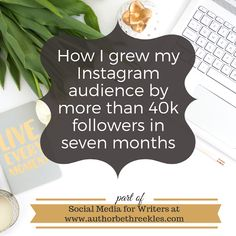 Social Media for Writers: How I grew my Instagram audience by more than 40k followers in seven months Netflix Original Movies, Netflix Originals, The Twenties, Letter Board, Writers, Followers, Novels, Author, Social Media
