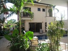 Luxury Villa / with Pool / Steps from the beach ! Pool Steps, Vacation Villas, Luxury Villa, Ideal Home, Jamaica, Swimming Pools, Costa Rica, Tropical Gardens, Beach