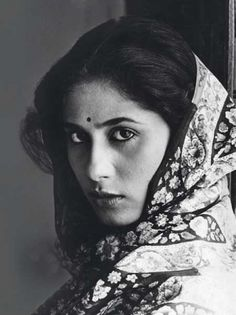 Smita Patil - (there's so much of her in Prateik Babbar, right down to the soulful eyes)