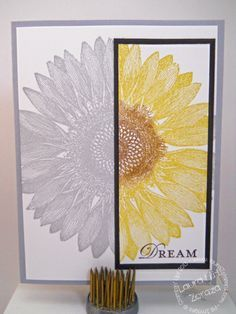 Sunflower Stampin' Up! Cards