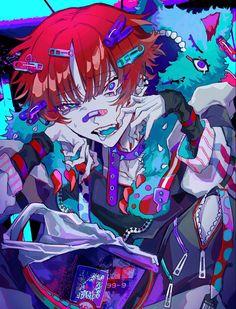 Character Art, Character Design, Yandere Anime, Gothic Anime, Goth Art, Fandom, Cartoon Art Styles, Anime Comics, Aesthetic Anime