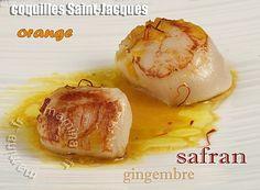 safran gingembre orange...une noisette de beurre salé, trois brin de ciboulette haché menu et c'est parfait