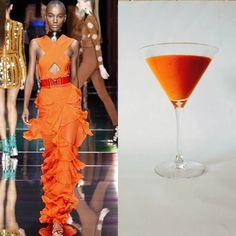 Adda's All – Fashion Food inspiruar nga Balmain Paris P/V 2016 – Krem specash