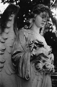 Weeping Angel Bonaventure Cemetery by johnmartine63, via Flickr