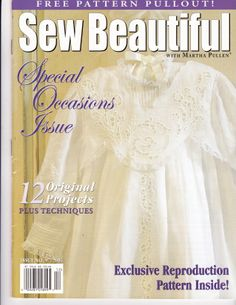 #97 2004 - Anna Garrin - antique reproduction dress, sz. 2-6 Heirloom Sewing, Smocking, Little Ones, Free Pattern, Special Occasion, Anna, Sweets, Magazine, Antique