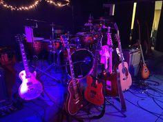 guitars guitars guitars... Drums, Guitars, Music Instruments, Concert, Drum Sets, Recital, Festivals, Drum, Drum Kit