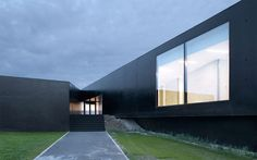 company headquarters in saint mesmes, france (2006) image courtesy LAN architecture